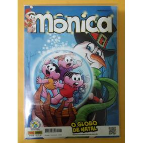 Revista Monica N°32 - O Globo De Natal