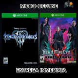 Devil May Cry 5 Deluxe + Kingdom Hearts 3 Xbox One Online