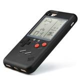 Funda Game Boy Tetris Negr Iphone X678 Plus + Cristal + Pila
