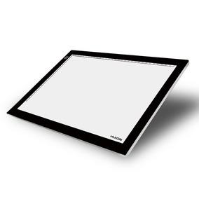 Caja De Luz Led Huion L4s Tamaño A4 Super Slim Pad De Luz