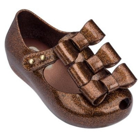 Mini Melissa Ultragirl Triple Metalizadas Baby Original Nova