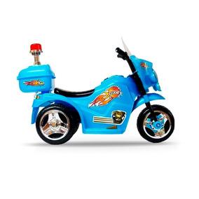 Mini Moto Elétrica Infantil A Bateria Luz E Som Varias Cores
