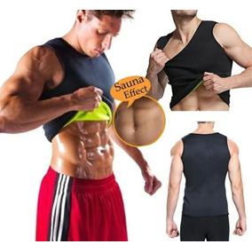 Cinta T-shirt Masculina Slim Fitness Queima De Gorduras
