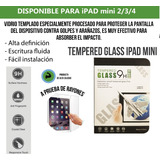 Mica Para Ipad Mini 2/3/4 Tempered Glas , Pack De 10 Pzas.