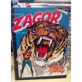 Zagor Nº 18 Tigre ! Editora Rio Gráfica Ótimo Tex Bonelli