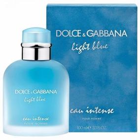 1c2d58194e49d2 Dolce Gabbana Light Blue Intense Masculino - Perfumes Importados ...