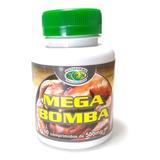 Mega Bomba Ganho Massa Muscular Rápida Natural 60 Cáps 500mg
