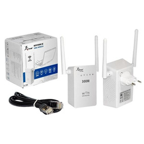Repetidor Expansor Wifi Wireless 2 Antenas Externas 300mbps