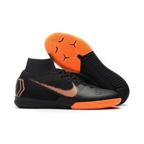 Chuteira Nike Mercurial Superfly Futsal Lancamento - Chuteiras Preto ... 8281eae2f623f