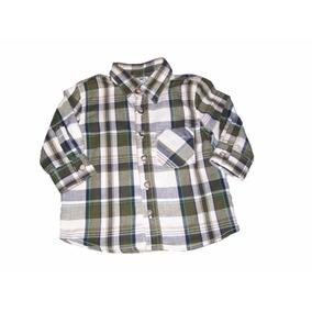 Camisa Masc. Infantil De Flanela Manga Longa Hering Original