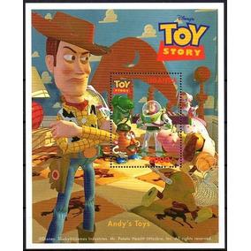 Uganda - Toy Story - Disney - 1997 - 4 Blocos / Casa Do Selo