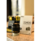 Camara Nikon D3400