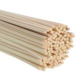 100 Varitas De Bambú