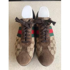 Vintage Gucci Sneakers Para Caballero Originales