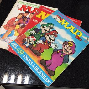 Lote Com 3 Revistas Mad - Coleção Nº 29/70/79 - Antigas -