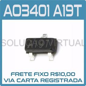 Kit 30 Pcs - Ao3401, A19t - Mosfet - Receptor