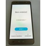 Samsung Galaxy J5 Metal 2016 Semi Novo C/ Bunr In