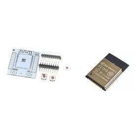 Placa Base Para Soldar Módulo Esp32 + Esp32 Módulo Wifi