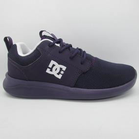 Tenis Dc Shoes Midway Sn Adjs700045 Pmg Purple Magic Morado