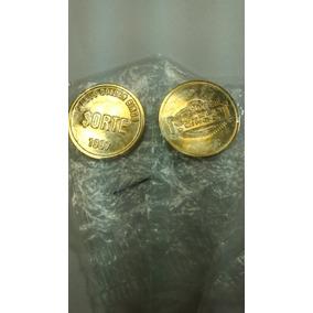 Moeda Da Sorte Dourada Golden Bingo 1997