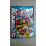 Super Mario 3d World Wi U