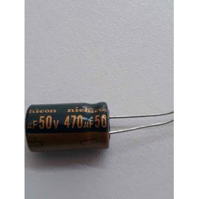 20pç Capacitor Eletronico 50v/470uf