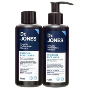 Kit Dr. Jones Charcoal Duo (2 Produtos) Blz