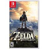 The Legend Of Zelda Breath Of The Wild Switch Nuevo Español
