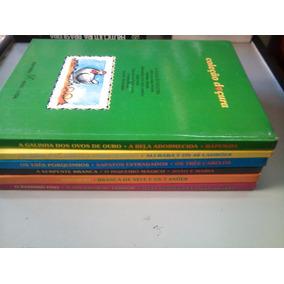 Livros -coleção Doçura- Literatura Infantil 6 Vol. Capa Dura