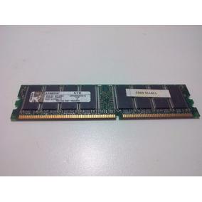 Memória Ram Pc Kingston 1gb Pc3200 Ddr-400mhz Dimm