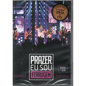 Dvd+cd Ferrugem - Prazer Eu Sou