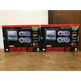 Super Nintendo Classic Edition Snes Mini Nueva Y Sellada