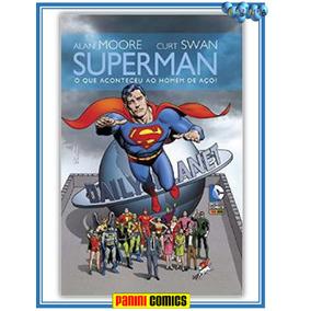 Superman O Que Aconteceu Com O Homem De Aço? Novo E Lacrado
