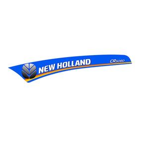 Adesivo Colheitadeira New Holland Cr5080 Esquerdo