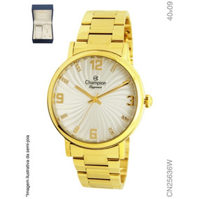 b01cc0dcd55 Pulseira Champion Metal Dourada - Relógios no Mercado Livre Brasil