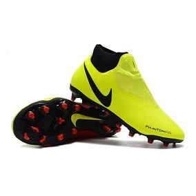 Chuteira Nike Verde Limao Original - Chuteiras no Mercado Livre Brasil d9bf8ea1ca4fd
