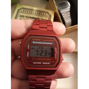 Reloj Casio Rojo Mate