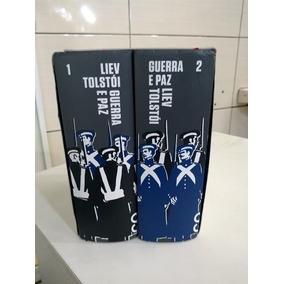 Livro Guerra E Paz ( Box Com 2 Volumes )