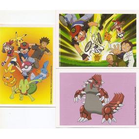 Figurinhas Pokémon Advanced Panini