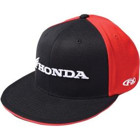 Gorra Factory Effex Honda Hombre Flexfit Negr rojo bco Lg xl a58faa5a6bc