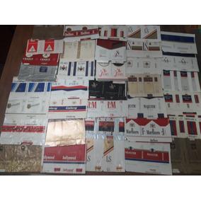 Lote Coleção Embalagens De Cigarro Antigos