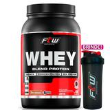 Whey Protein Blend Chocolate Ftw Mix De Proteínas + Brinde