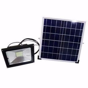 Refletor Led 50w C/ Painel Solar