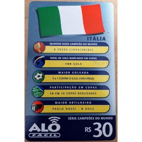 Cartão Telefônico Série Campeões Do Mundo - Itália