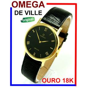 68ab57649b8 Relógio Omega De Ville Automático - Relógios no Mercado Livre Brasil