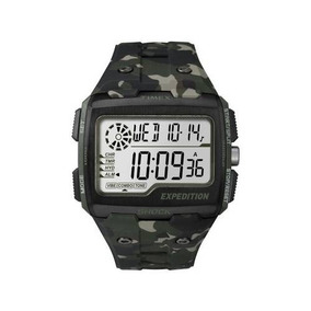 Relógio Masculino Timex Digital - Resistente À Água