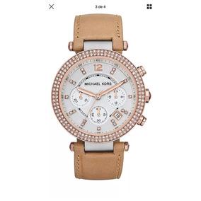 e6ad344efb2 Relógio Michael Kors Feminino Original Mk2298 Couro Pink - Relógios ...