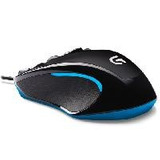 Mouse Logitech G300s Negro Optico Alambrico Para Jue