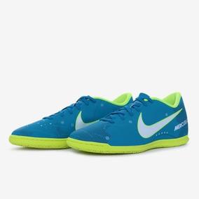 d58b7d64bc Chuteira Futsal Nike Mercurial Azul - Chuteiras Nike de Futsal no ...