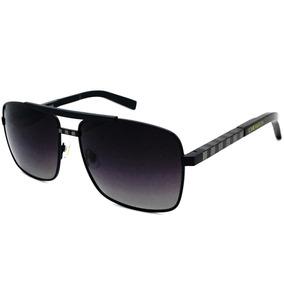 Óculos De Sol Feminino Original Lvretangular Premium Black 9ab6eb1ac3